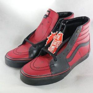 MARVEL x VANS SK8-Hi Deadpool Sneakers DS All New